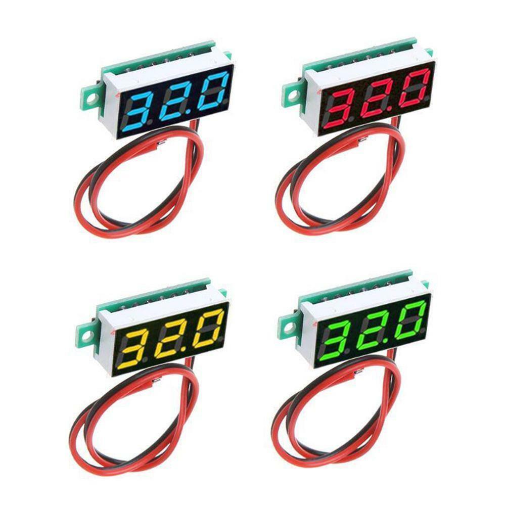 0.28 Inch 2.5V - 30V Mini Digital Voltmeter Voltage Testers
