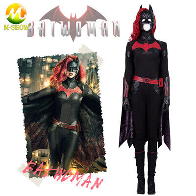 Batgirl Costume Accessories (Batwoman Batgirl Cosplay costume accessories Halloween Prop cloak mask wig)