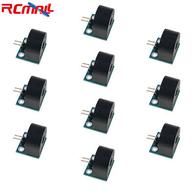 10pcs 5a Single-phase Ac Current Sensor Transformer Module For Arduino