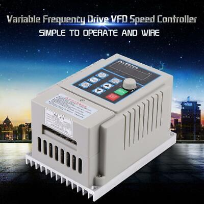 0.75kw 1hp Vfd Ac 220v 5a Single Phase Speed Variable Frequency Drive Inverter