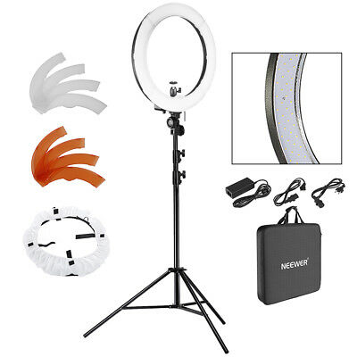 "Neewer 18"" LED Ring Light Dimmable for Camera Photo Video,Ma"