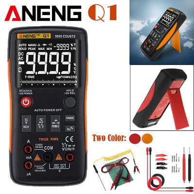 Aneng Q1 True-rms Digital Multimeter 9999 Counts W Analog Bar Acdc Ammeter