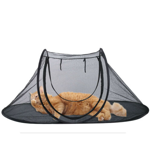 Haustierzelt Katze Hund Zelt Camping Outrdoor Hundehütte Spielzelt Faltbar KO