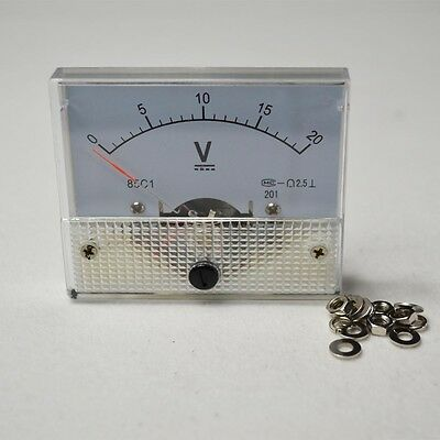 Dc 85c1 New Analog Volt Voltage Panel Meter Voltmeter 020v