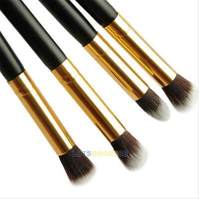 4PCS Pro Makeup Cosmetic Tool Eyeshadow Eye Shadow Foundation Blending Brush Set on Rummage