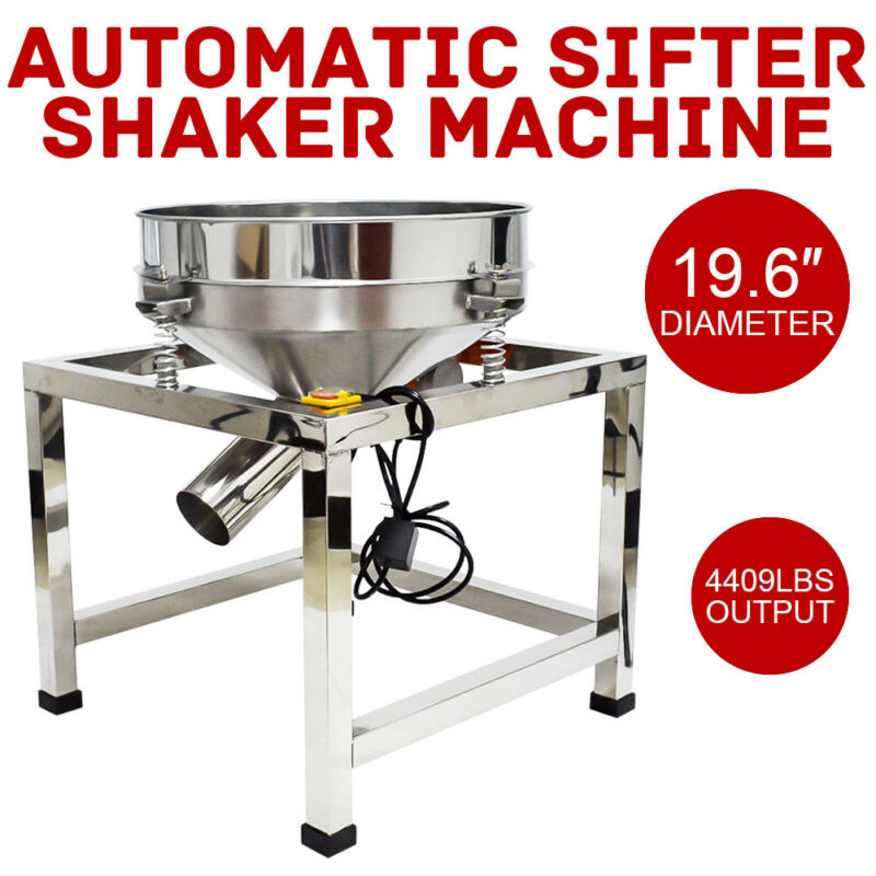 Food/Industrial Processing Electric Flour Automatic Sifter ,Screen Deck