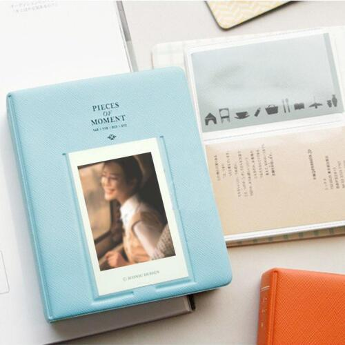 64 Pockets Photo Album Case For Fujifilm Instax Mini8 7s 25 50s 90 Storage US