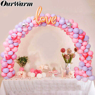 Large Balloon Arch Column Stand Frame Kit for Birthday Wedding Party Decoration - Decor For Weddings