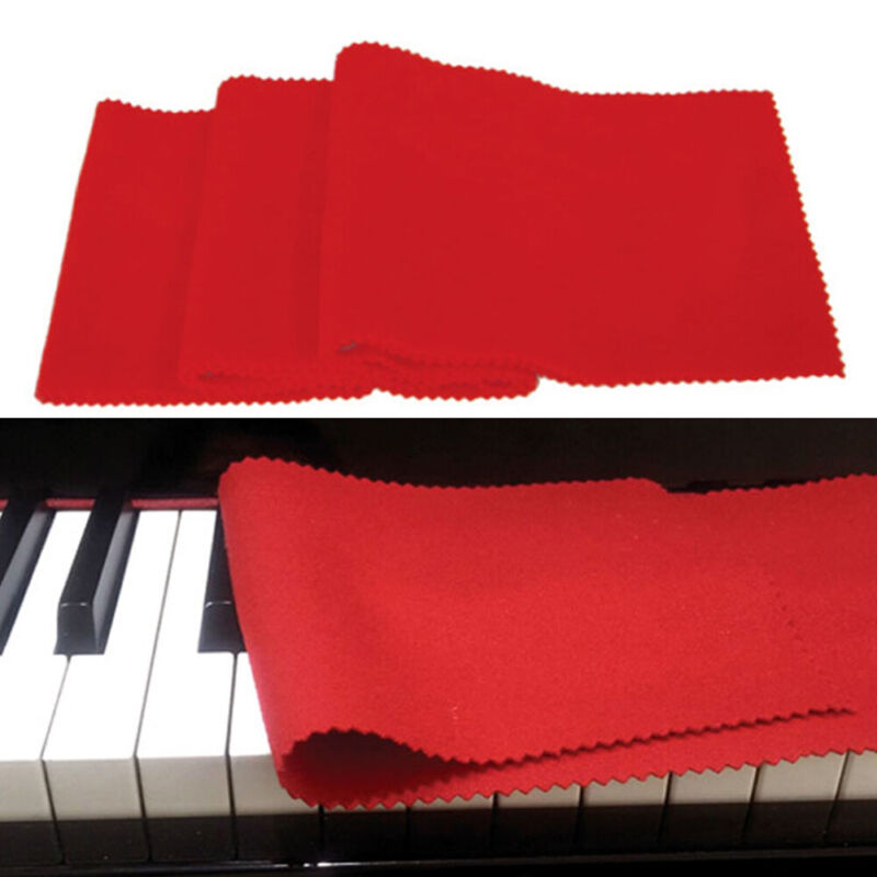 Washable Dust Proof  Cover Piano Keyboards Soft Ultra Fine Fluff Portable