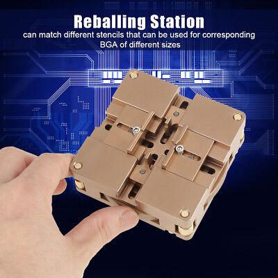 Ht-90x Soldering Bga Reballing Station Auto Magnet Stencil Solder Rework Kit Am