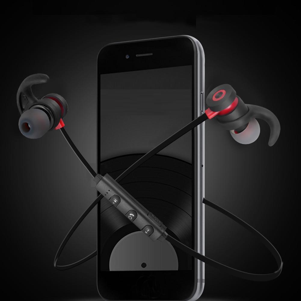 Wireless Bluetooth Earphone Magnetic Headphones Waterproof Sports Stereo Headset