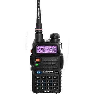 NEW BAOFENG UV-5R VHF/UHF Dual Band Radio Handheld Tranceiver with free earpiece
