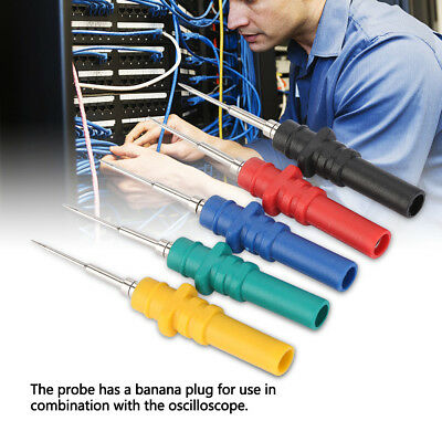 5x Hantek Ht307 Back Test Probe Pins Set Screws Auto Diagnostic W20pcs Needles