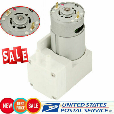 1x Mini Vacuum Pump Negative Pressure Suction Pumping 70lmin -76kpa 50w Dc 12v