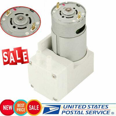 1x Mini Vacuum Pump Negative Pressure Suction Pumping 70lmin -76kpa 50w Dc 12v