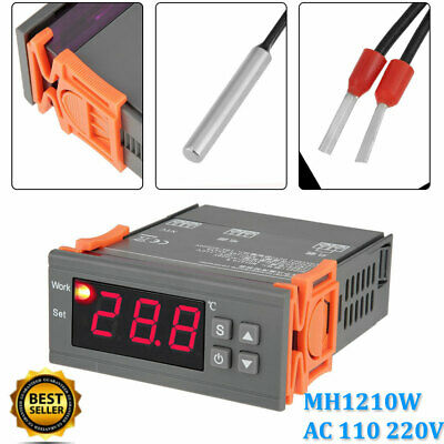 Mh1210w Digital Temperature Controller Thermostat Calibration Ac 110 220v