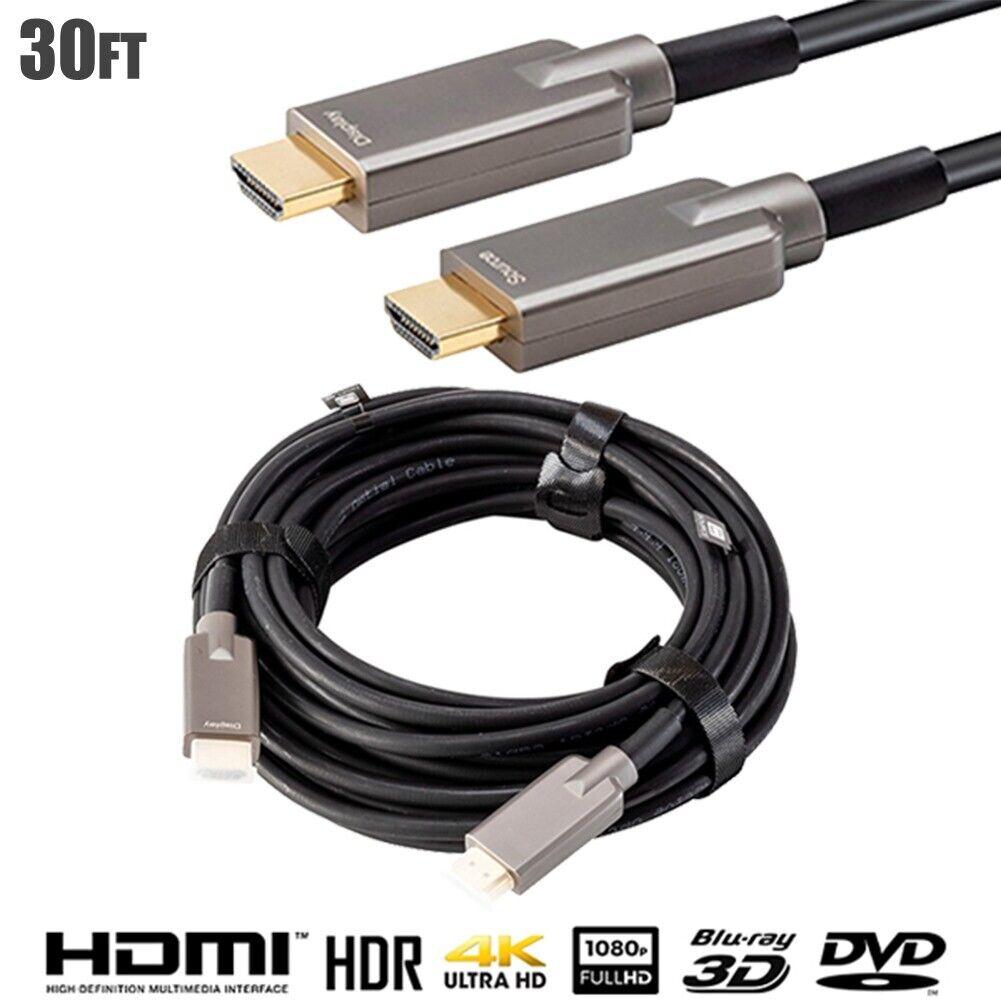 Premium Toslink Optical Audio Cable Digital Optic Fiber Optics 15 25 35-100 ft
