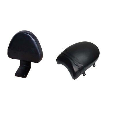 REAR BACKREST BLACK SEAT SISSY COWL FOR <em>VICTORY</em> HIGH BALL VEGAS KINGPI