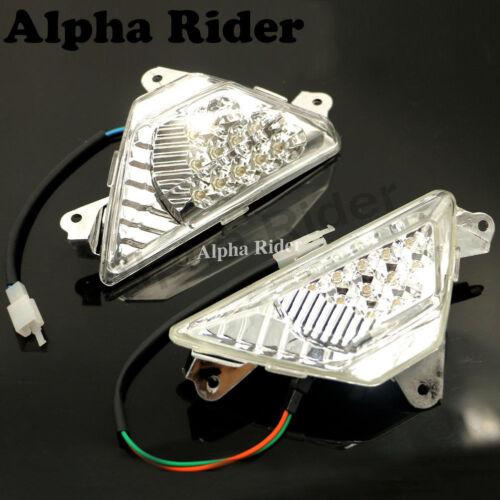 Front LED Turn Light Signals Indicator For Kawasaki EX300 Ninja 300 2013-2017