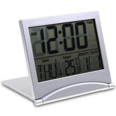 Wecker Digital Uhr Alarmwecker Tischuhr Thermometer Kalender Alarm (Digitale Tischuhr)