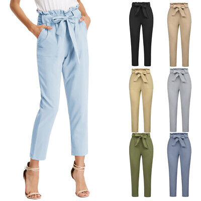 office women pants casual high waisted grace