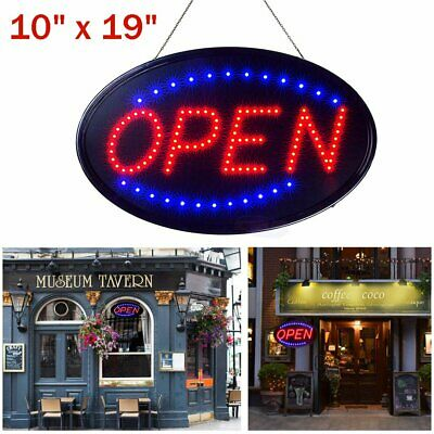 Ultra Bright Led Neon Light Sign Open Store Bar Cafe Animated Motion With Onoff