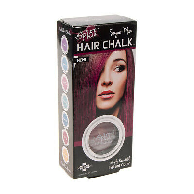 Splat Sugar Plum Haarkreide Temporäre Haarfarbe Chalk Coloration - Lila Auswaschbare Farbe