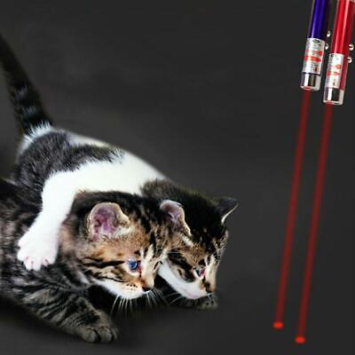 2 In1 Mini Red Laser Pointer Pen Keychain Flashlight Child Pet Cat Toy