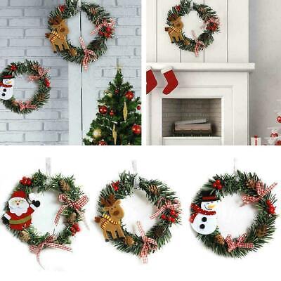 Decorate Door For Christmas (Christmas Decoration for Door Tree Wreaths Garland Hanging Pendant Window)