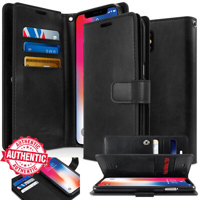 For iPhone 11 Pro MAX Xs XR 7 8 wallet leather Book Flip Card Rugged Case Cover