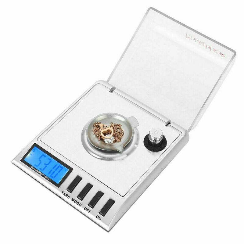 20x0.001g High  Jewelry Digital Milligram Scale New Smart Weigh US SHIP