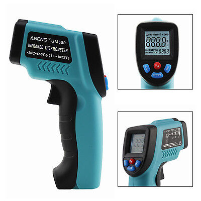 Non-contact Ir Infrared Laser Digital Temperature Thermometer Gun -50 550