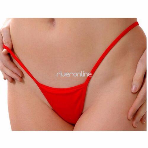 Frauen Sexy Micro G-String Dessous Höschen Bikini Unterwäsche Tanga Schlüpfer