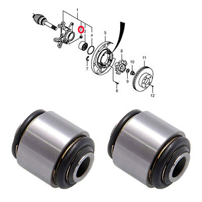 Rear Spring Link Ball Joint 2P Assy for Ssangyong Rexton Kyron Rodius OEM Part