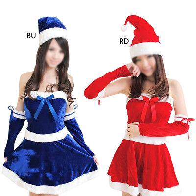 SexyDamen Weihnachtsmann Weihnachten Kostüm Cosplay Outfit Verkleidung Set (Mann Sexy Outfit)