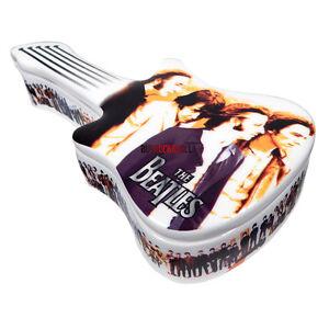 Beatles-Collectors-Memorabilia-Rare-2001-Vandor-Anthology-Guitar-Box-Figures