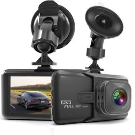 HaWacha Dash Camera for Cars with Full HD 1080P 170 Degree Super Wide Angle