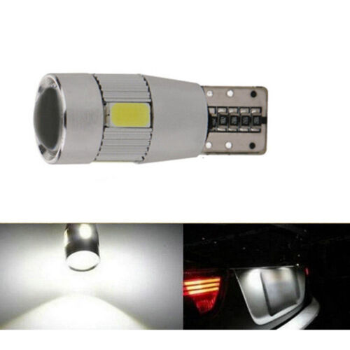 2pcs T10 501 194 W5W 5630 6 LED Car Side Wedge Light SMD HID CANBUS#ke