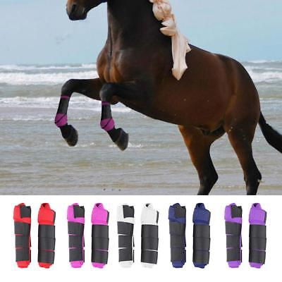 Adjustable Horse Leg Boots Front Hind Leg Tendon Protector Equestrian - Protector Horse