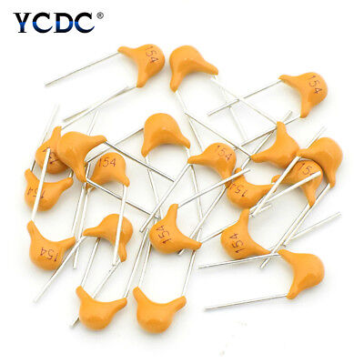 Monolithic Ceramic Chip Capacitors 10pf To 10uf Assortment Kit 50v 20pcs Lot 80