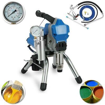 395 2200w Airless Wall Paint Spray Gun Sprayer Spraying Machine High Pressure