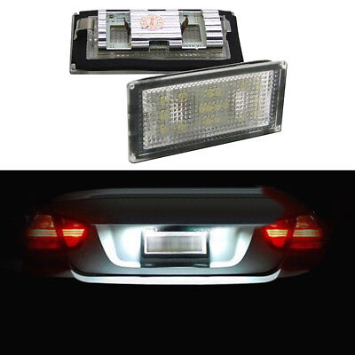 Light Spreading widely LED License Number Plate Canbus For BMW E65 E66 2001-2008 for sale  Shipping to Canada