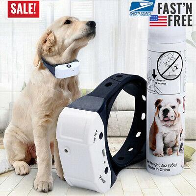 Anti Bark Spray Collar - Stop Barking Citronella Rechargeable Dog Collar Anti Bark Pet Train Mist Spray