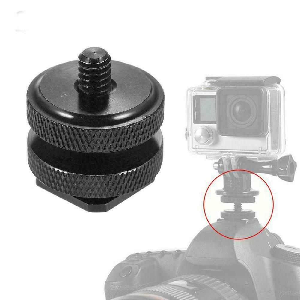 "2x Tripod Convert Mount to QR Adapter Monopod w// 1//4/"" Thread for Sony//GoPro"