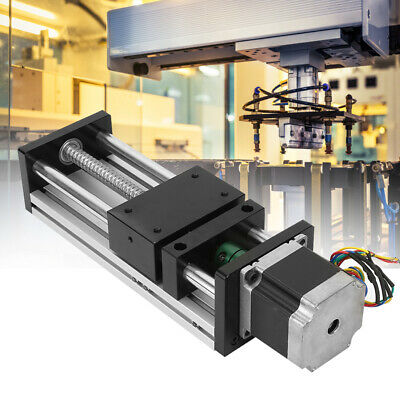 Linear Guide Rail Cnc Slide Stage Actuator Ball Screw Motion Table Nema 57 Motor