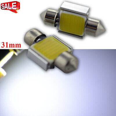 - 4Pcs 31MM COB 5W Festoon Canbus 9 LED Bulbs Reading Lamp AC 12V Error Free 300LM