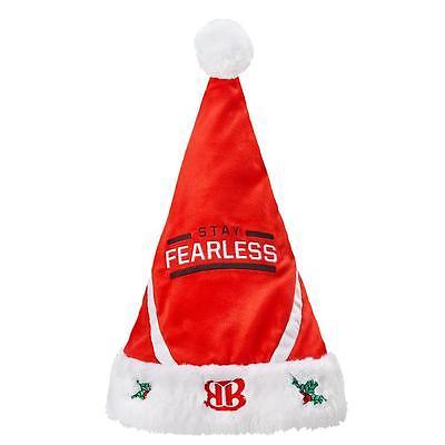 New Licensed Wwe Nikki Bella Stay Fearless Santa Hat Too Cool  Last Ones  W1