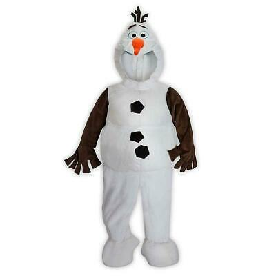Olaf Costume For Girls (NEW Disney Store Deluxe OLAF Plush Child's Costume Kid Halloween Girls)