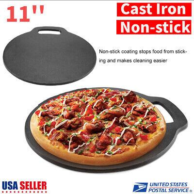 Non-stick Pizza Stone Best Baking Stone Round 11 inch Perfect Crust Pizza Plate