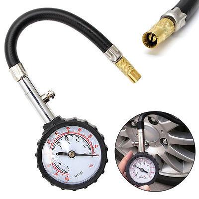 0-100PSI Car Truck Auto Motor Tyre Tire Air Pressure Gauge Dial Meter Tester RF